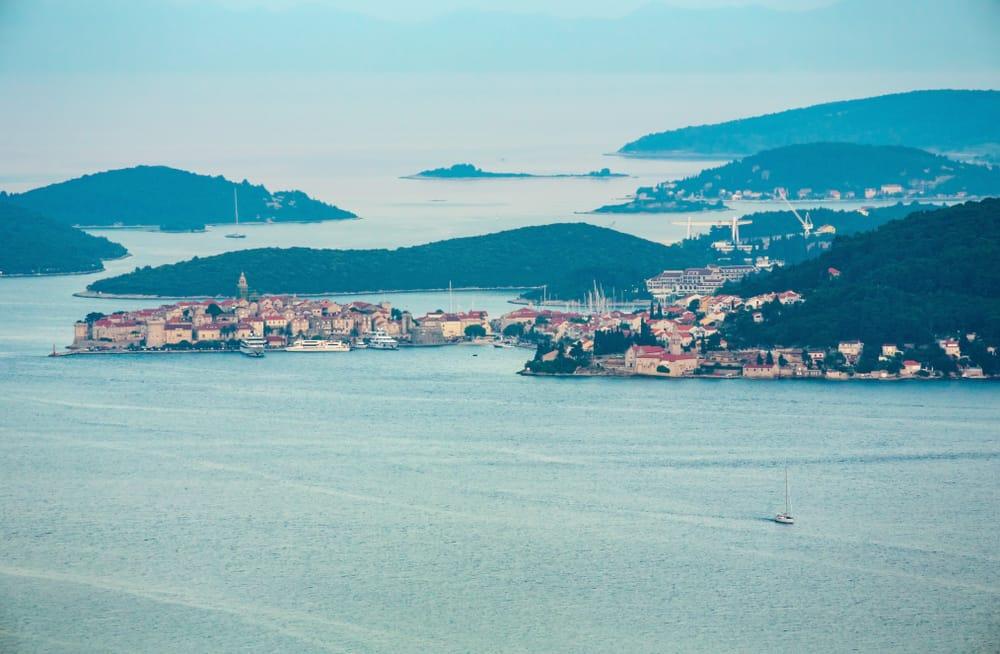 Kako do Korčule